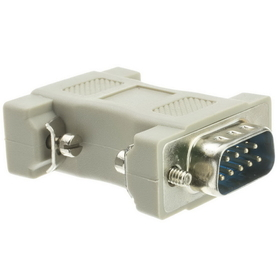 CableWholesale 30D1-19200 DB9 Male / HD15 (VGA) Female, VGA Adaptor, Molded