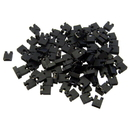 CableWholesale 30J1-00100 Computer Jumper For Hard Drive, CD/DVD Drive, Motherboard and/or Expansion Card Jumper blocks, 100 Piece, 2.54mm