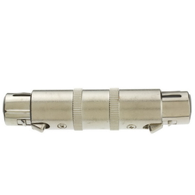 CableWholesale 30MC-03400 XLR Coupler / Gender Changer, Metal, XLR Female