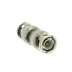 CableWholesale 30X3-00100 BNC Barrel Connector (Coupler), BNC Male to BNC Male