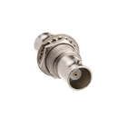 CableWholesale 30X3-BNCPM BNC Panel Mount Coupler, BNC Female to BNC Female
