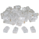 CableWholesale 31D0-500HD Cat5 RJ45 Crimp Connectors for Solid and Stranded Cable, 8P8C, 100 Pieces (not for data network)
