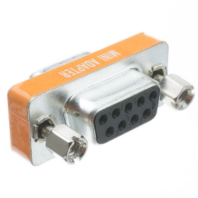 CableWholesale 31D1-28400 Mini Null Modem Adapter, DB9 Female to DB9 Female