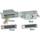 CableWholesale 31D3-37400 Modular Adapter, Gray, DB25 Female to RJ45