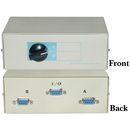 CableWholesale 40D1-10602 AB 2 Way Switch Box, DB9 Female