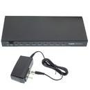 CableWholesale 41V3-08100 HDMI Splitter, 1 HDMI Female Input x 8 HDMI Female Output, 1x8