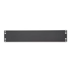 CableWholesale 61B2-21102 Rackmount Flat Spacer Blank, 2U