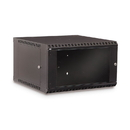 CableWholesale 61C2-11206 Rackmount Fixed Wall Mount Cabinet, 6U