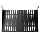 CableWholesale 61S1-22102 Rackmount Value Line Vented Shelf,  19 inch  Rack 12 inch deep, 2U