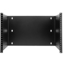 CableWholesale 68BP-2107U Rackmount Patch Panel Hinged Wall Bracket, 7U, 12.5 (H) x 19 (W) x 12 (D) inches