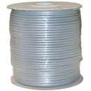 CableWholesale 8604-1000F-28 Bulk Phone Cord, Silver Satin, 28/4 (28 AWG 4 Conductor), Spool, 1000 foot