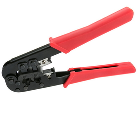 CableWholesale 91D5-56800 Crimp Tool for RJ11 / RJ12 / RJ45, Network and Phone