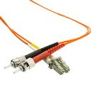 CableWholesale LCST-11102 Fiber Optic Cable, LC / ST, Multimode, Duplex, 62.5/125, 2 meter (6.6 foot)