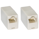 CableWholesale MC-8P8C-ST RJ45, 8P8C, (Straight) Telephone Inline Coupler