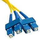 CableWholesale SCSC-01202 Fiber Optic Cable, SC / SC, Singlemode, Duplex, 9/125, 2 meter (6.6 foot)