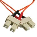CableWholesale SCSC-11102 Fiber Optic Cable, SC / SC, Multimode, Duplex, 62.5/125, 2 meter (6.6 foot)