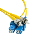 CableWholesale SCST-01202 Fiber Optic Cable, SC / ST, Singlemode, Duplex, 9/125, 2 meter (6.6 foot)