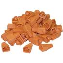 CableWholesale SR-8P8C-OR RJ45 Strain Relief Boots, Orange, 50 Pieces Per Bag
