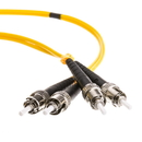 CableWholesale STST-01203 Fiber Optic Cable, ST / ST, Singlemode, Duplex, 9/125, 3 meter (10 foot)