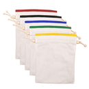 Aspire 12PCS DIY Drawstring Canvas Favor Bag, Wedding Pouch / Jewelry bags