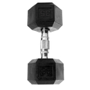 CAP Barbell Hex Dumbbells With Rubber Head & Contoured Chrome Handle - 35 LB. (Price/each)