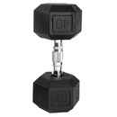 CAP Barbell Hex Dumbbells With Rubber Head & Contoured Chrome Handle - 40 LB. (Price/each)