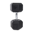 CAP Barbell Hex Dumbbells With Rubber Head & Contoured Chrome Handle - 70 LB. (Price/each)