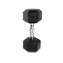 CAP Barbell Hex Dumbbells With Rubber Head & Contoured Chrome Handle - 25 LB. (Price/each)
