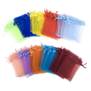 Aspire 1000 Pieces Organza Drawstring Pouch Bag, Gift Bag Wholesale - 4 x 5 Inch