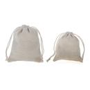 Aspire Canvas Favor Bag, Drawstring Gift Bag Candy Bag - 2 Sizes 90 Pieces