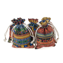 Aspire Egyptian Style Jewelry / Coin / Goodie Pouch, 5 x 6-3/4 Inch (60 PCS)