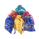 Aspire 60 Pieces Chinese Jewelry Pouches, Favor Bag, Gift Bag - 4 x 5 Inch