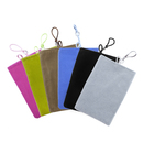 "Aspire 12PCS Cellphone Velvet Pouch, Soft Sleeve Flannelette Bag, 4 5/16"" W x 6 11/16"" H"