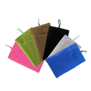 Aspire 12 Pieces Cellphone Velvet Pouch, Microfiber Sleeve Cover Case Pouch, 4 x 5 7/8 Inch