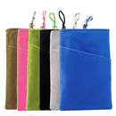 Aspire 12PCS Cellphone Velvet Pouch, 4 5/16 x 6 11/16 Inch Microfiber Sleeve Cover Case Pouch
