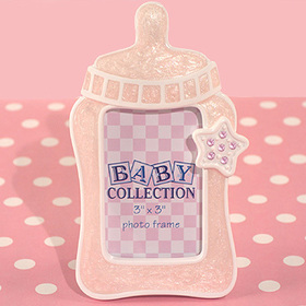 Cassiani Collection 1627 Cute Baby Bottle Frame Favor