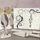 Cassiani Collection WSET9615HEART Love and Hearts wedding accessory set