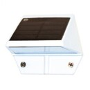 Classy Caps SL179 White Aluminum Deck & Wall Solar Light