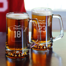 Cathy's Concepts 1129FJ-2 Football Jersey Mugs (Set of 2()