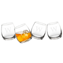 Cathy's Concepts 1219-4 Personalized 7 oz. Tipsy Whiskey Glasses