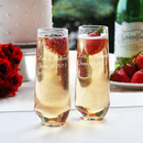 Cathy's Concepts 1228-2 Stemless Champagne Flutes