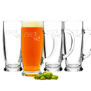 Cathy's Concepts 1282HS Home State Craft Beer Mugs (Set of 4)