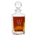 Cathy's Concepts 1295 Personalized 32 oz. Square Whiskey Decanter