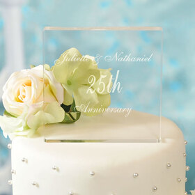 Cathy's Concepts 1306 Personalized Celebration Cake Topper