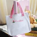 Cathy's Concepts 1803P Personalized Flowergirl Tote Bag