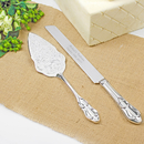 Cathy's Concepts 2077 Embossed Cake Server Set