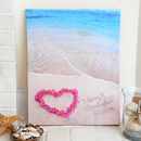 Cathy's Concepts 2109H Ocean Waves of Love Gallery Wrapped Canvas