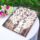 Cathy's Concepts 2109TD Our Family Tree Gallery Wrapped Canvas Guest Book