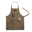 Cathy's Concepts 2541GN Personalized Men's Waxed Canvas Apron