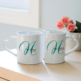 Cathy's Concepts 3600I Personalized Initial Mugs, Price/Set of 2